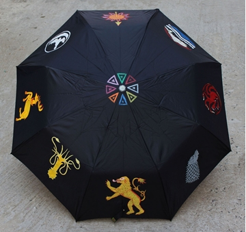 Picture of Game of Thrones Handdrawn Umbrella