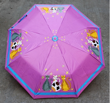 Picture of Pink Handdrawn Umbrella