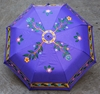 Picture of Violet Handdrawn Umbrella