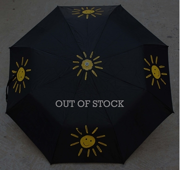 Picture of Black Handdrawn Umbrella
