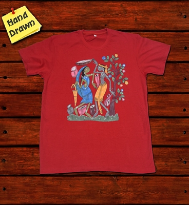 Picture of Red Potua Art T-Shirt