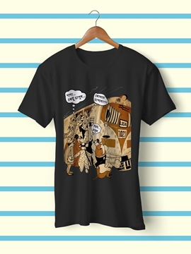 Picture of Crowded Train T-Shirt