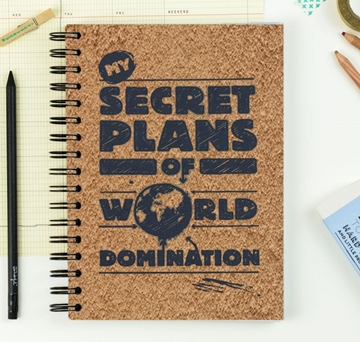 Picture of Secret Plans Notebook