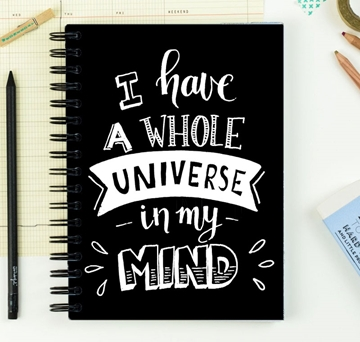 Picture of Universe In Mind Notebook