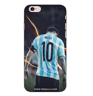 Picture of Messi in Argentina jersey